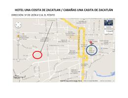 HOTEL UNA COSITA DE ZACATLAN / CABAÑAS UNA