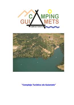 """""""Complejo Turístico els Guiamets"""""""