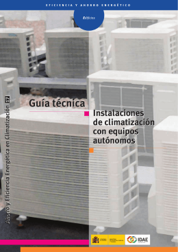 Guía técnica instalaciones de climatización con equipos