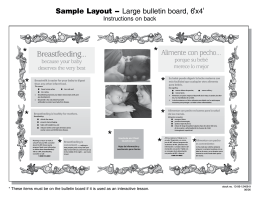 Sample Layouts