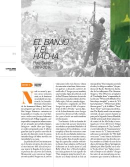 EL BANJO Y EL HACHA
