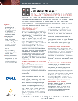 Dell Client ManagerTM
