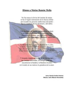 Himno a Matías Ramón Mella