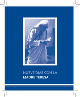 Nueve días con la Madre Teresa