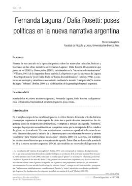 Fernanda Laguna / Dalia Rosetti - Facultad de Filosofía y Letras
