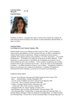 Gabriela Rubio - Biografía