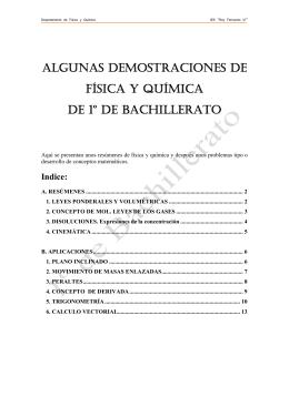 Ampliaciones de 1º de Bachillerato.