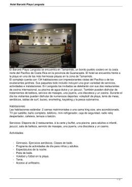 Hotel Barceló Playa Langosta