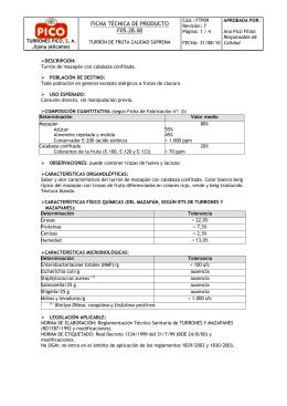FICHA TÉCNICA DE PRODUCTO F05.28.00