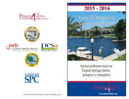 Peace4Tarpon_Resource Guide 2015 Spanish.pub