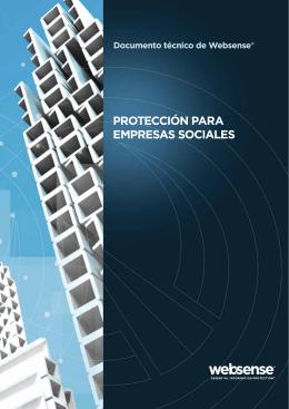 PROTECCIÓN PARA EMPRESAS SOCIALES