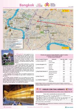 Bangkok y Hoteles