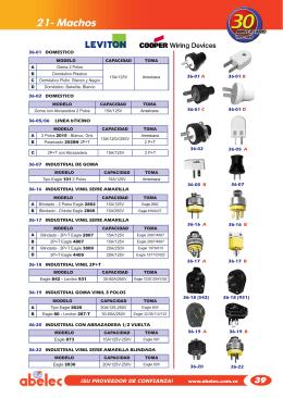 21- Machos - electromax.com.ve