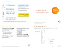 (ATT150150902) Reemplazo del Portal Wi-Fi de AT&T U