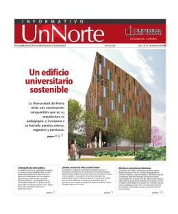 Informativo UnNorte Edición 56 - Diciembre
