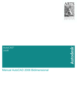 Manual AutoCAD 2006 Bidimensional