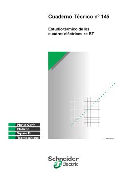 Cuaderno Técnico nº 145 de Schneider Electric