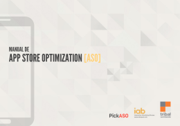 APP STORE OPTIMIZATION[ASO]