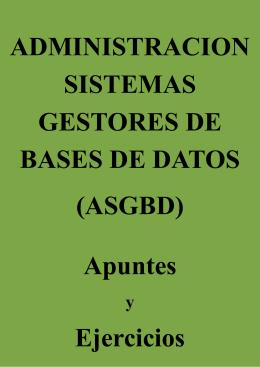 Administracion de Bases de datos_apuntes v2.1