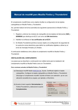 Manual de la aplicación