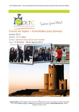 DLTC English School – Cursos de Inglés de Verano 2015 para