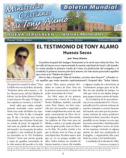 El Testimonio de Tony Alamo - Tony Alamo Christian Ministries
