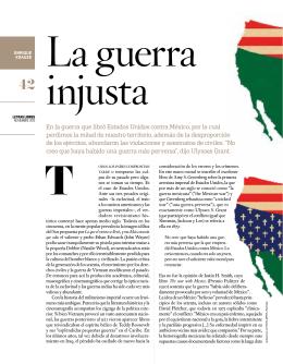 En la guerra que libró Estados Unidos contra México