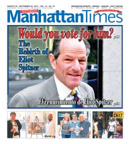 El renacimiento de Eliot Spitzer