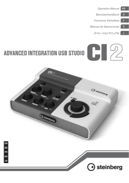 CI2 Operation Manual