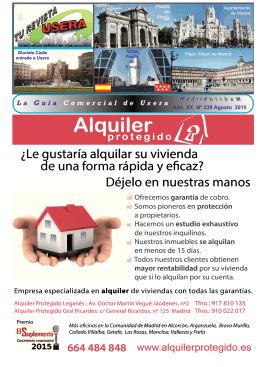 Tu Revista Usera - Tu Revista de Usera y Carabanchel