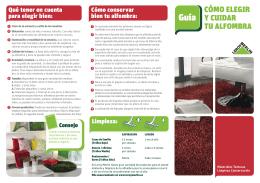 Guía de alfombras 2009