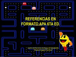 Referencias en Formato APA