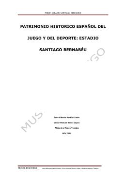 ESTADIO SANTIAGO BERNABEU trabajo copia