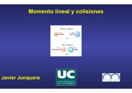 7.Momento lineal y colisiones