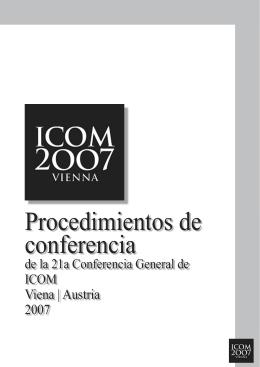 Procedimientos de conferencia