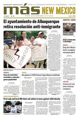 El ayuntamiento de Albuquerque retira