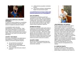 ¿QUÉ ES UN AJUSTE - Centro Quiropráctico Nilsson