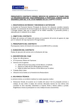 INSTITUTO DE FOMENTO REGIONAL