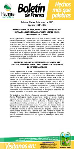 BOLETÍN DE PRENSA N° 11