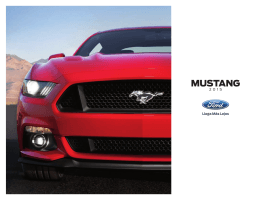 2015 Mustang PR Brochure - Spanish