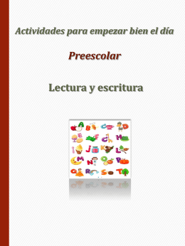Preescolar ( lenguaje y comunicación )/DGDC-SEB