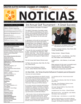 noticias - Greater Austin Hispanic Chamber of Commerce