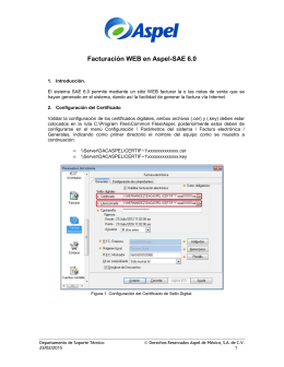Facturación WEB en Aspel