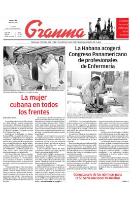 La mujer cubana en todos los frentes
