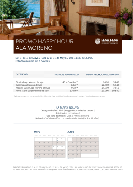 Happy hour Moreno