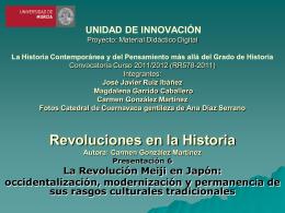 La Revolución Meiji