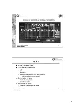 Comunicaciones S7-200