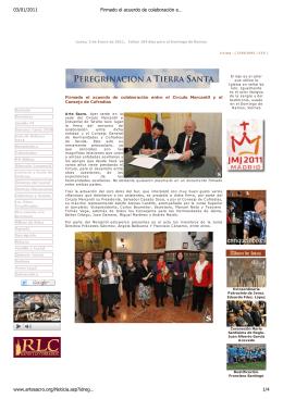 Firmado el acuerdo de colaboración entre el Círculo Mercantil y el