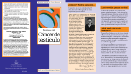 testículo - American Institute for Cancer Research