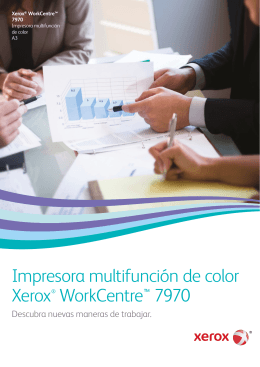 Folleto Xerox WorkCentre 7970